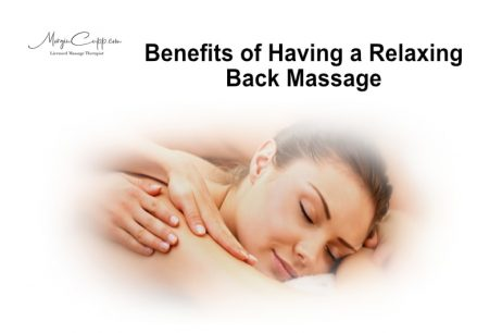 Benefits of Having a Relaxing Back Massage